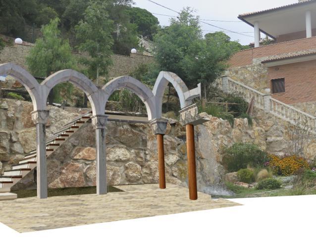 glorieta estilo antiguo como iglesia
