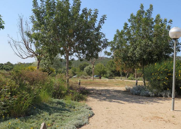 parque publico en Sitges